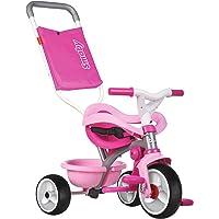 Triciclo Be move Confort rosa con volquete