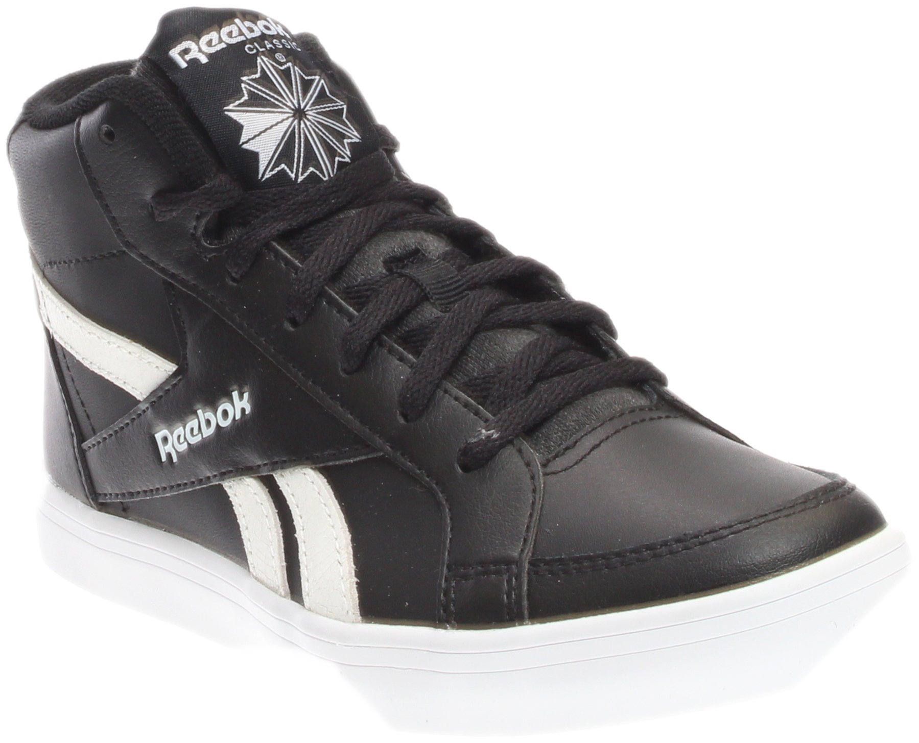 Reebok Royal Kewtee ML Womens Casual Shoe 5 Black-White