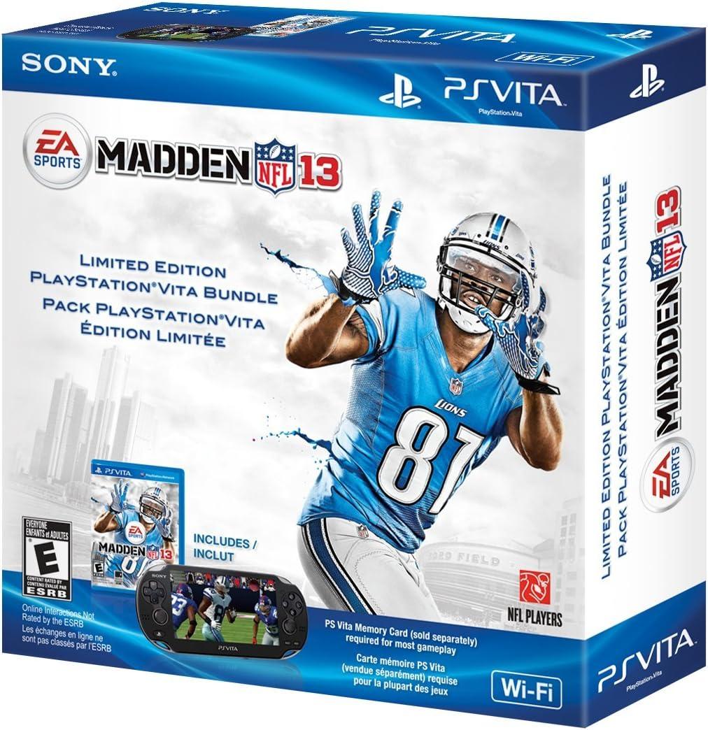 Amazon.com: Madden NFL 13 PlayStation Vita Wi-Fi Bundle ...