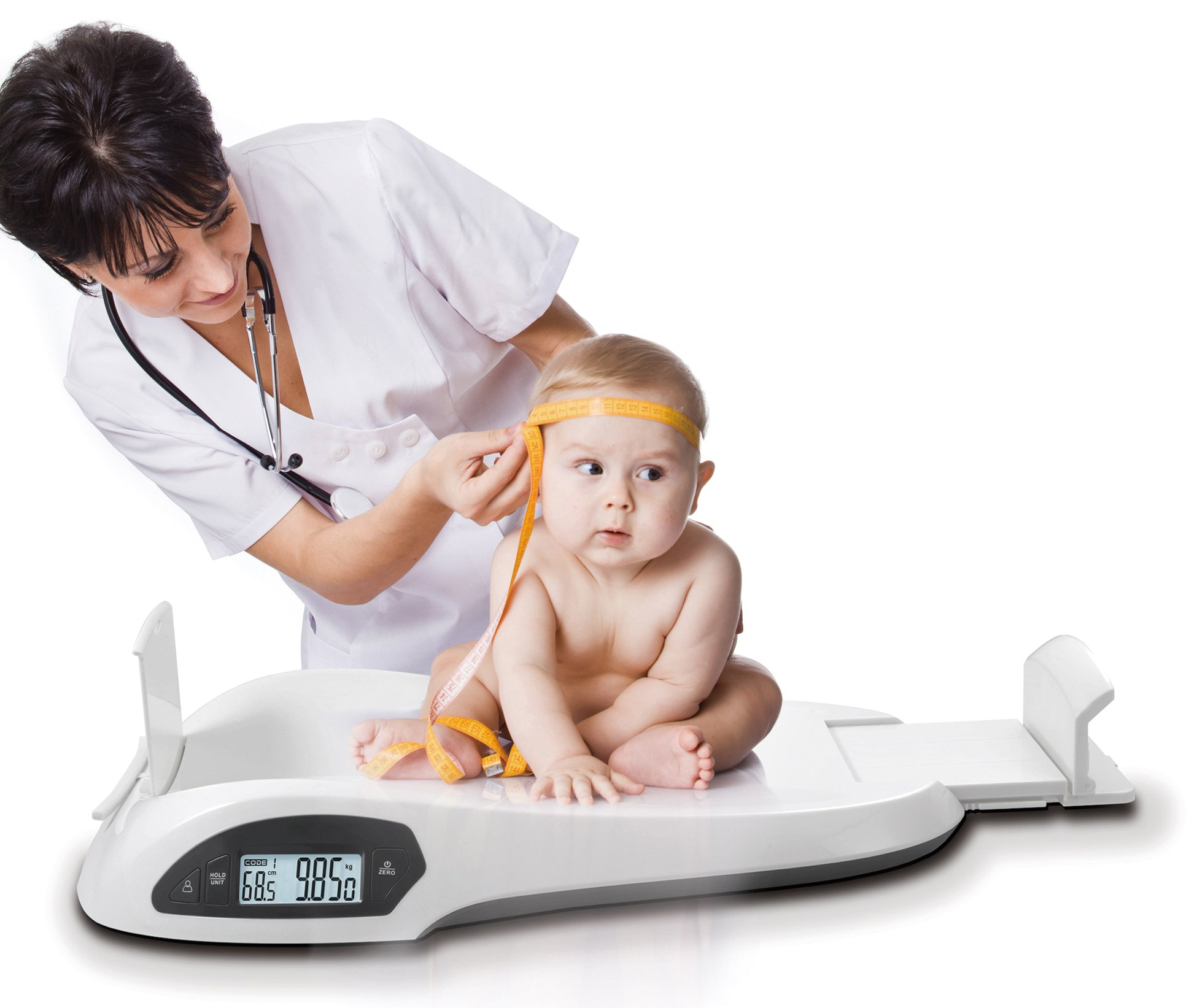 Ozeri All-in-One Baby and Toddler Scale - with Weight and Height Change Detection by Ozeri (Image #3)