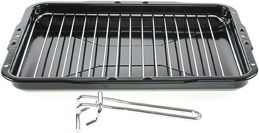 Bandeja para con mango desmontable 386 x 300 mm para Kenwood de cocina hornos: Amazon.es: Hogar