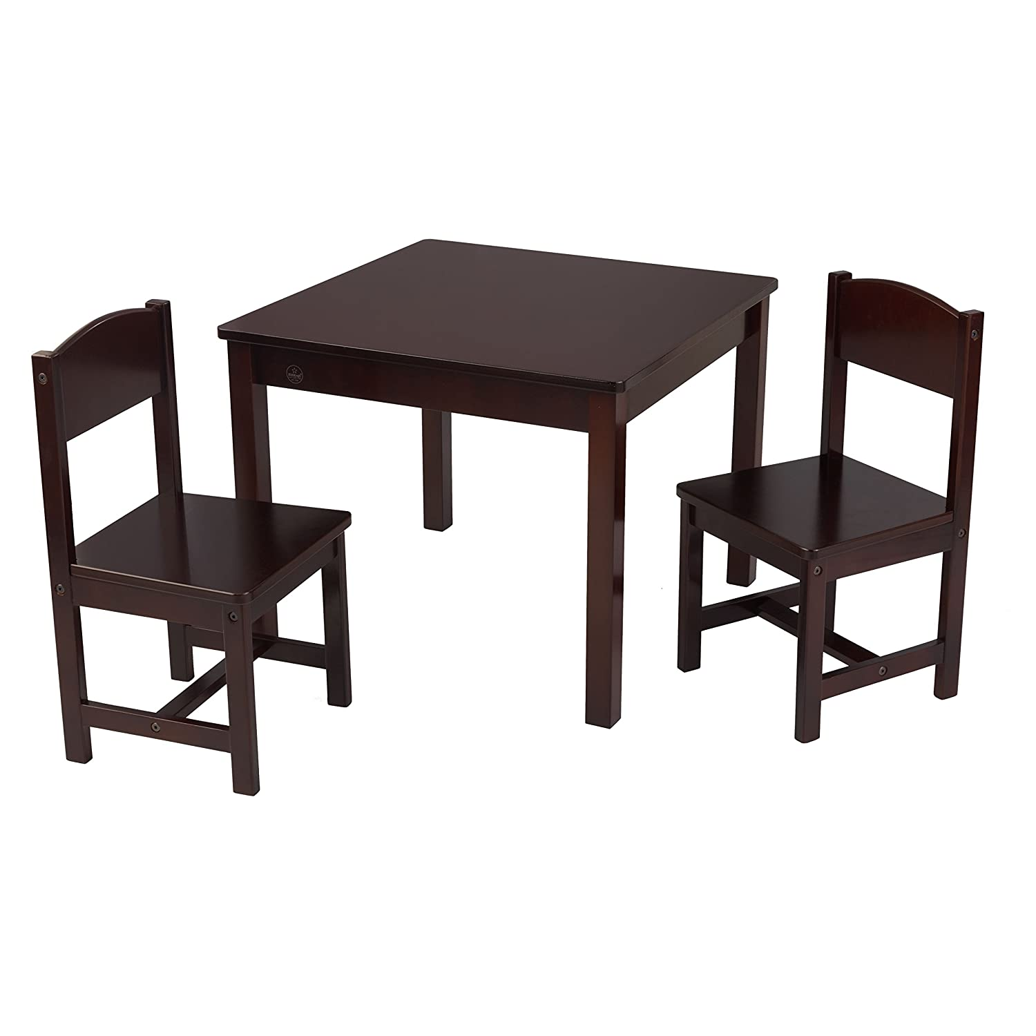 KidKraft Aspen Table & 2 Chairs Table & Chair KIDKRAFT (DropShip) 21203