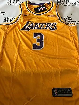L Gold Mens Los Angeles Lakers Lebron James Replica Jersey #23