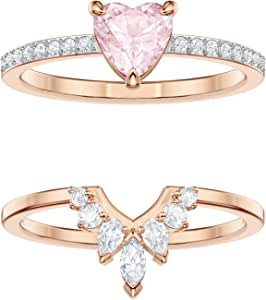 Swarovski Women's Multi-colored Rose-gold tone plated One Set Size N 5446302