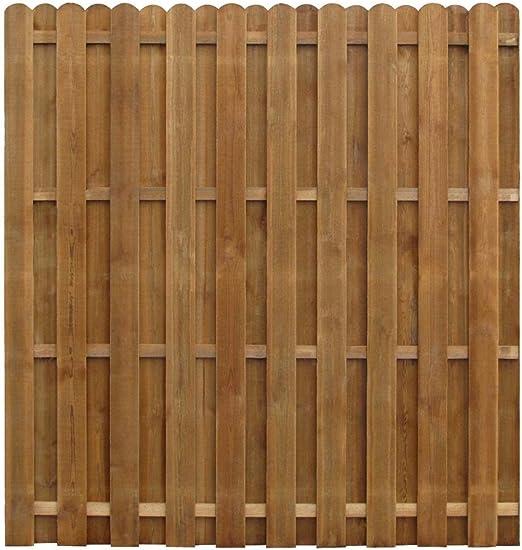 Festnight Panel de Valla de Jardín de Madera 170 x 170 cm: Amazon.es: Hogar