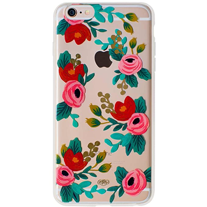low priced 35cf0 51331 Transparent Clear Rosa Slim Cell Phone Cover for iPhone 6 Plus Rifle Paper  Co.