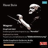 ワーグナー : 管弦楽曲集 (Wagner: Siegfried-Idyll, Parsifal, etc. / Horst Stein, Radio-Symphonie-Orchester Berlin) (2CD)