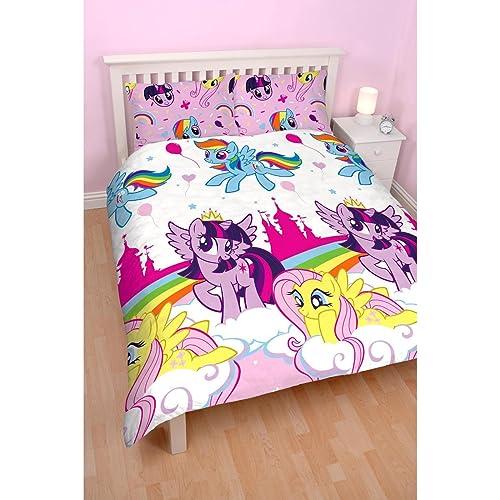 My Little Pony U0027Equestriau0027 Double Duvet Set   Repetitive Print Design