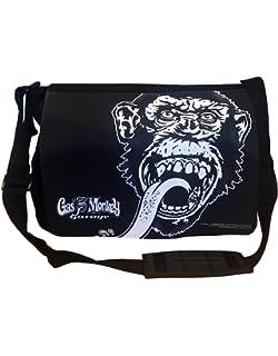 e2dc360c8c Officiellement Sous Licence Gas Monkey Garage Logo Sac bandouliere,  Messenger Sac