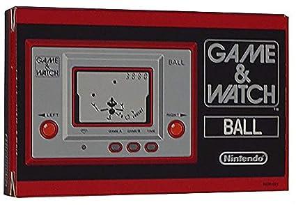Amazon.com: Juego & Watch Balón reimpresión (Japón ...