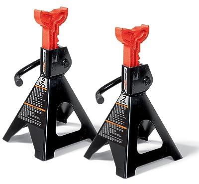 Milestone Tools Powerzone 380035 2 Ton Steel Jack Stand