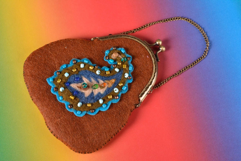 Monedero original hecho a mano accesorio de moda regalo para ...