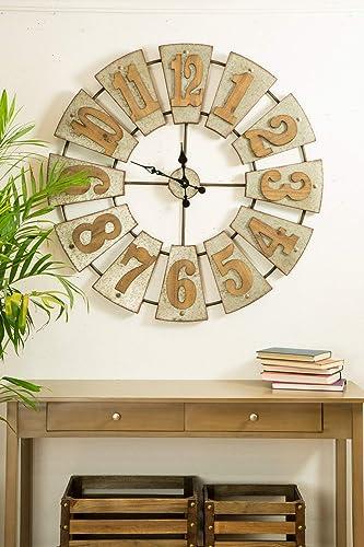 Glitzhome Wall Clock