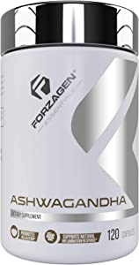 Forzagen Ashwagandha 120 Capsules - 2 Months Supply | Anxiety Relief | Stress Relief | Improved Mood Supplements | Premium Anti Anxiety Supplement |