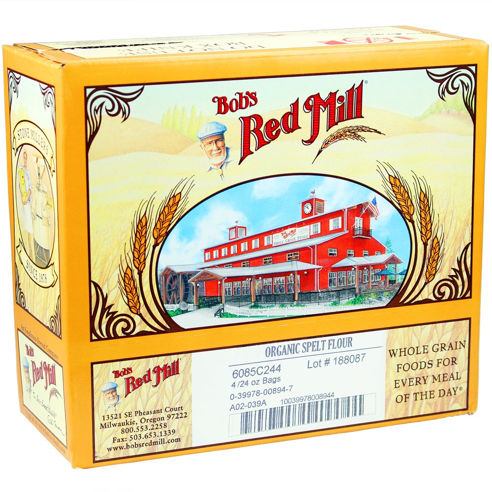 Bob's Red Mill Organic Spelt Flour, 24-ounce (Pack of 4) by Bob's Red Mill (Image #8)