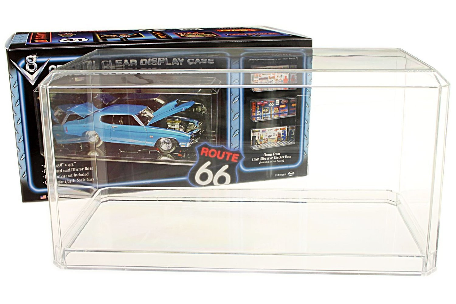 1/24 Scale Die Cast Display Case Pioneer Plastics Inc