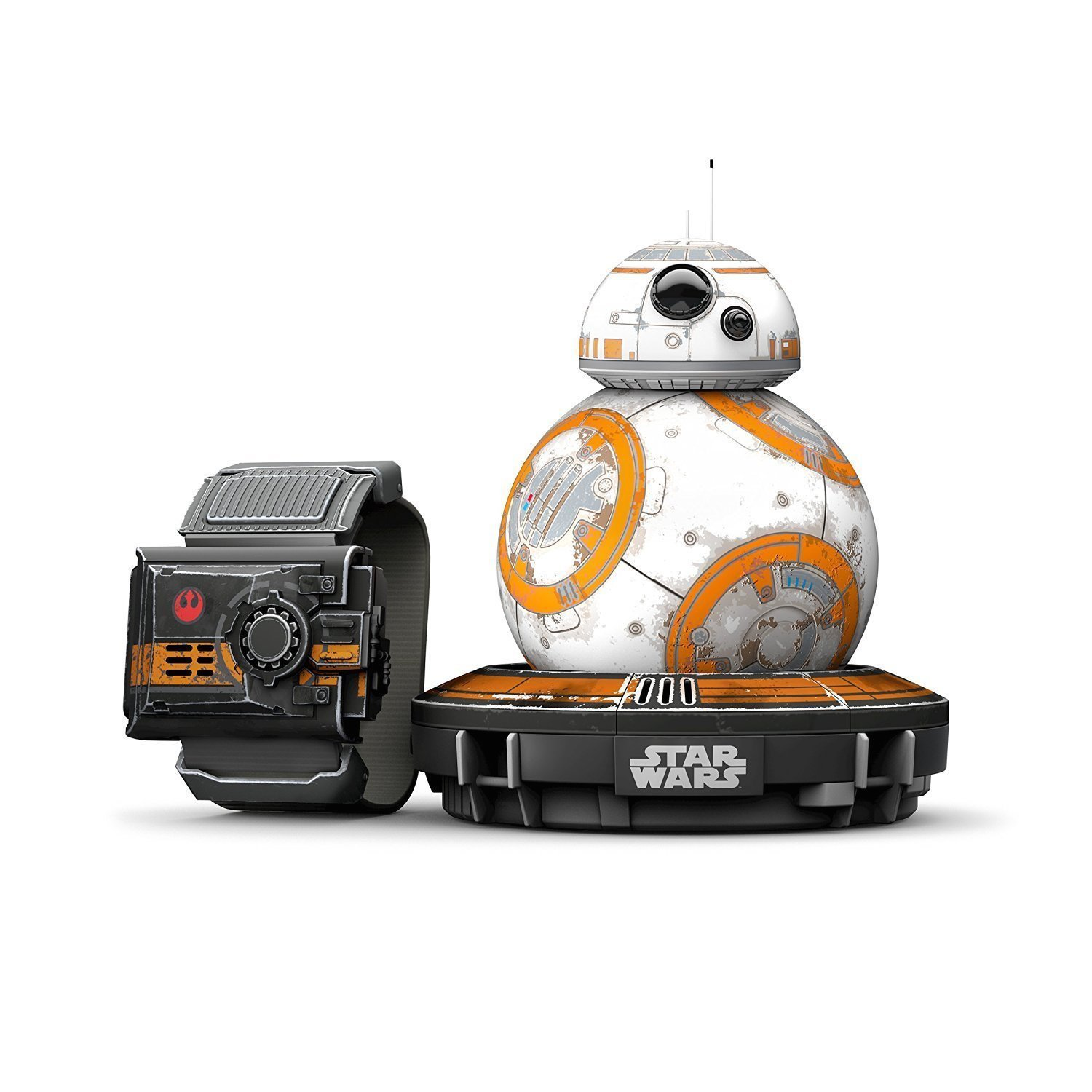 Sphero Special Edition Battle-Worn BB-8 with Force Band (Renewed) by Sphero (Image #1)