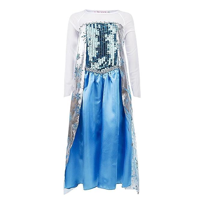 FESTA8 - Vestido - para niña azul turquesa