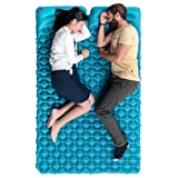 Double Inflatable Sleeping Pad Camping Air Mattress