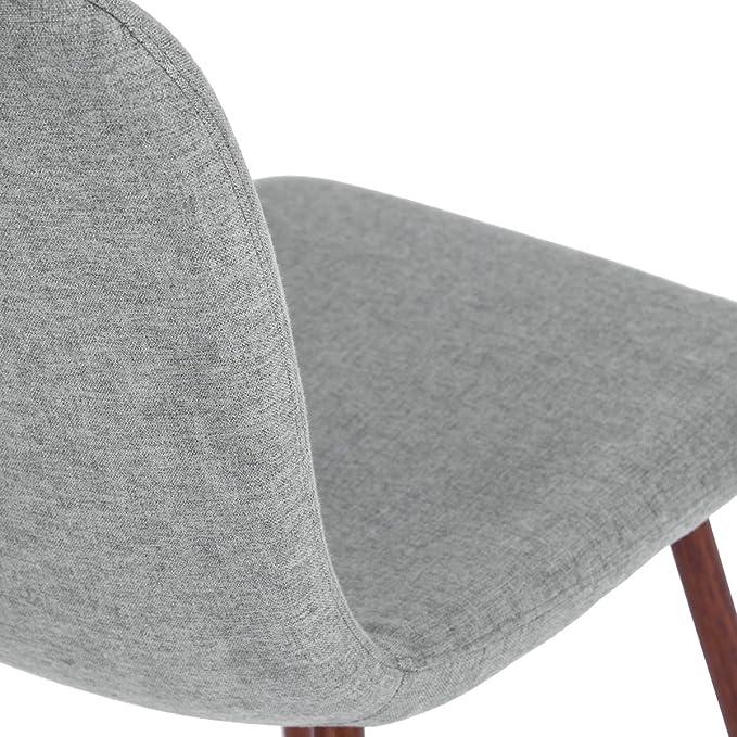 Amazon.com: furniturer 4 Pcs Silla de comedor estilo único ...