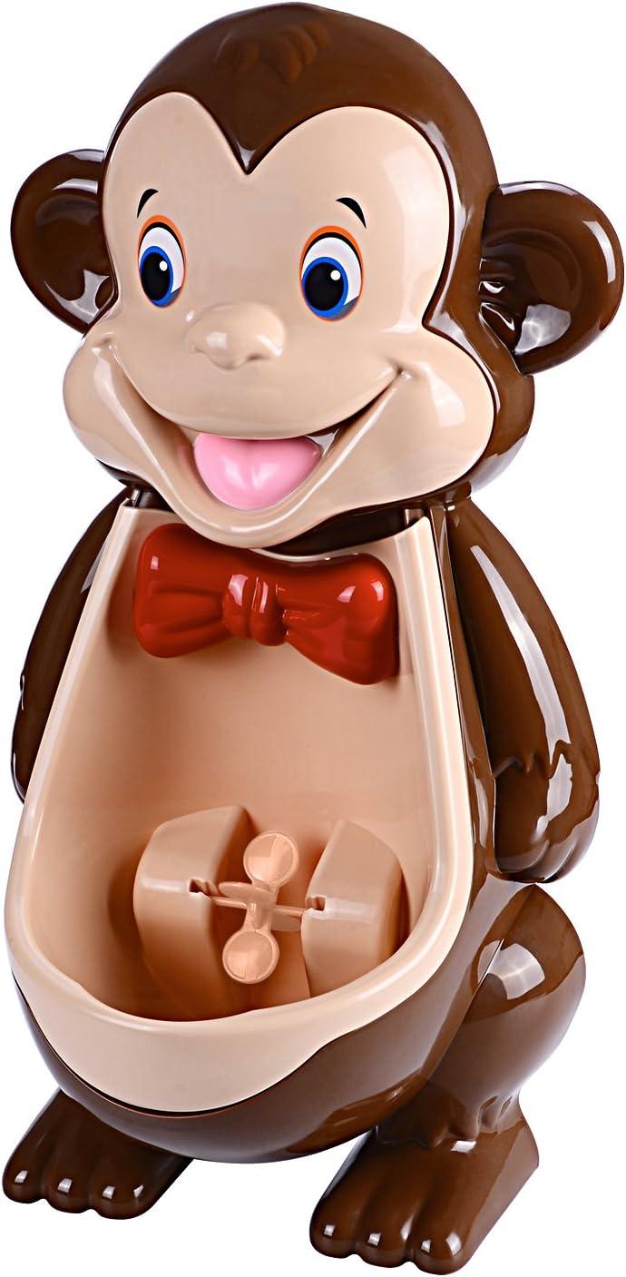 Orinal de entrenamiento para niños con diseño de mono con ...