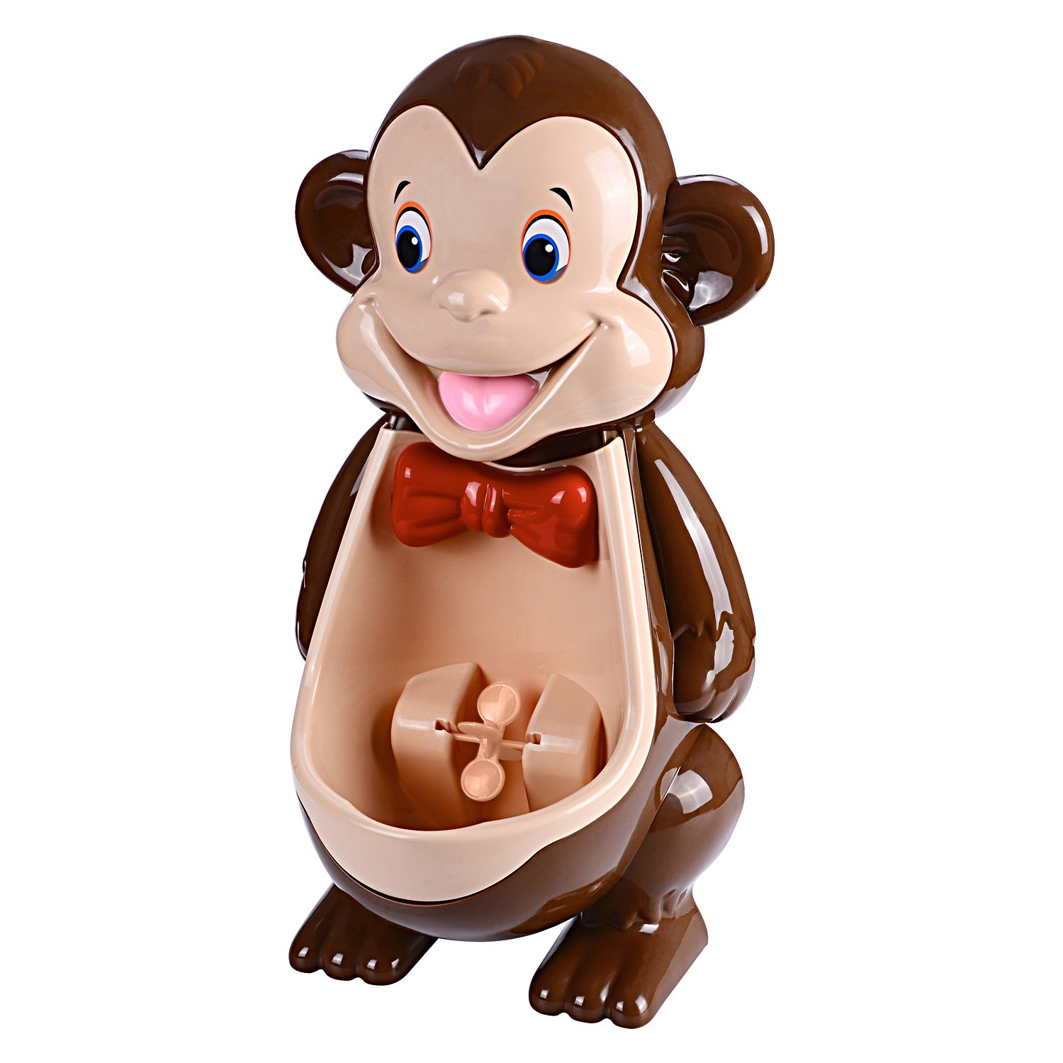 Boys Cute Monkey Potty Training Urinal with Funny Aiming Target Windmill by mkool M-HZ
