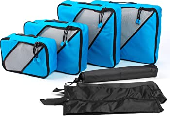 7 Piece Ordenado Travel Packing Cubes