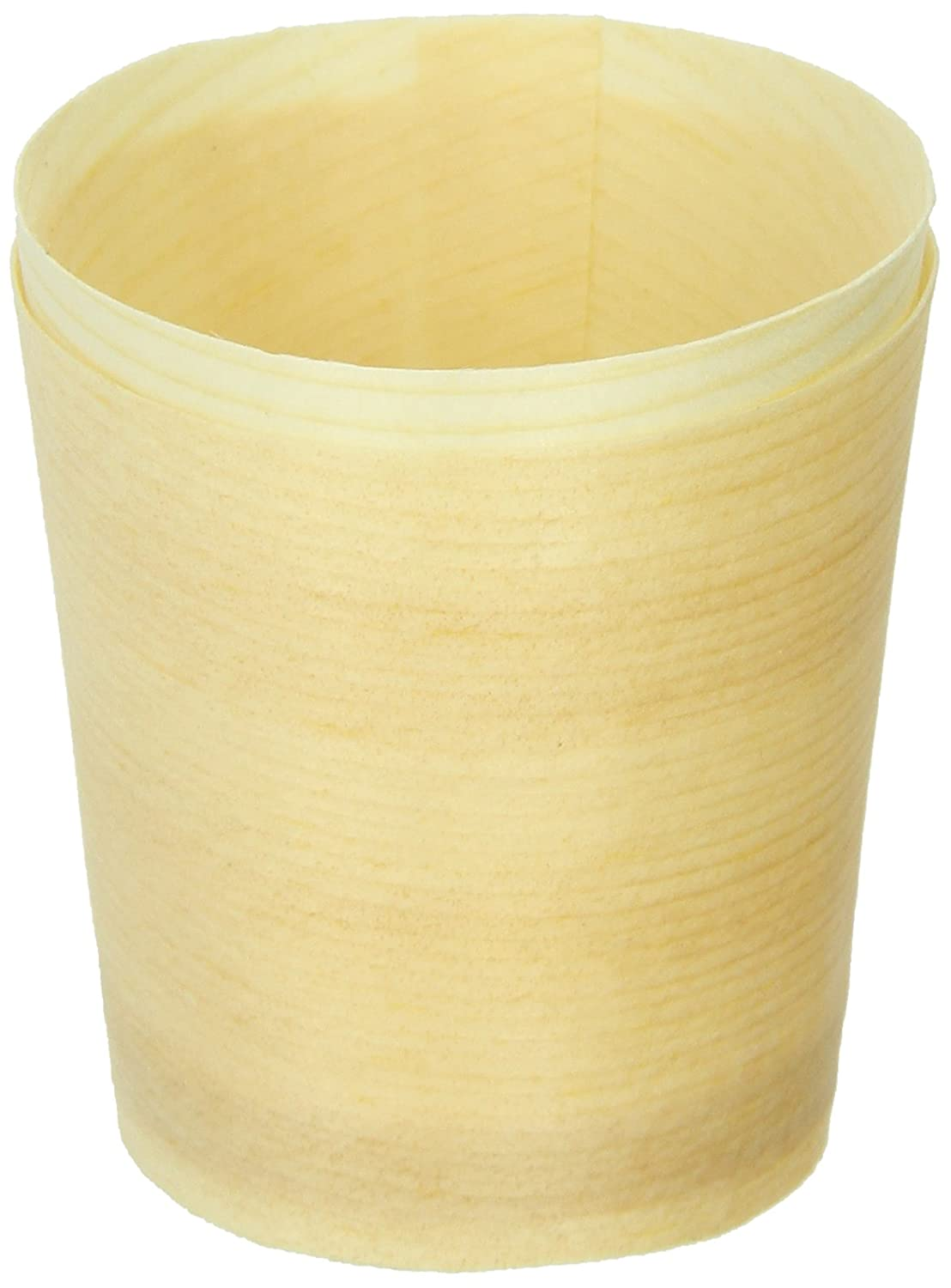 """Mini Wooden Cup (Case of 1000), PacknWood - Bulk Case of Biodegradable Wood Holder Cups (1 oz, 1.5"""" x 1.6"""") 210BBCUP4"""