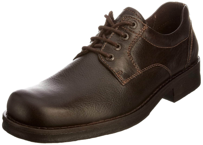 camel active Gringo 11 303.11.01 - Zapatos de cuero para hombre 42 EU|Marrón
