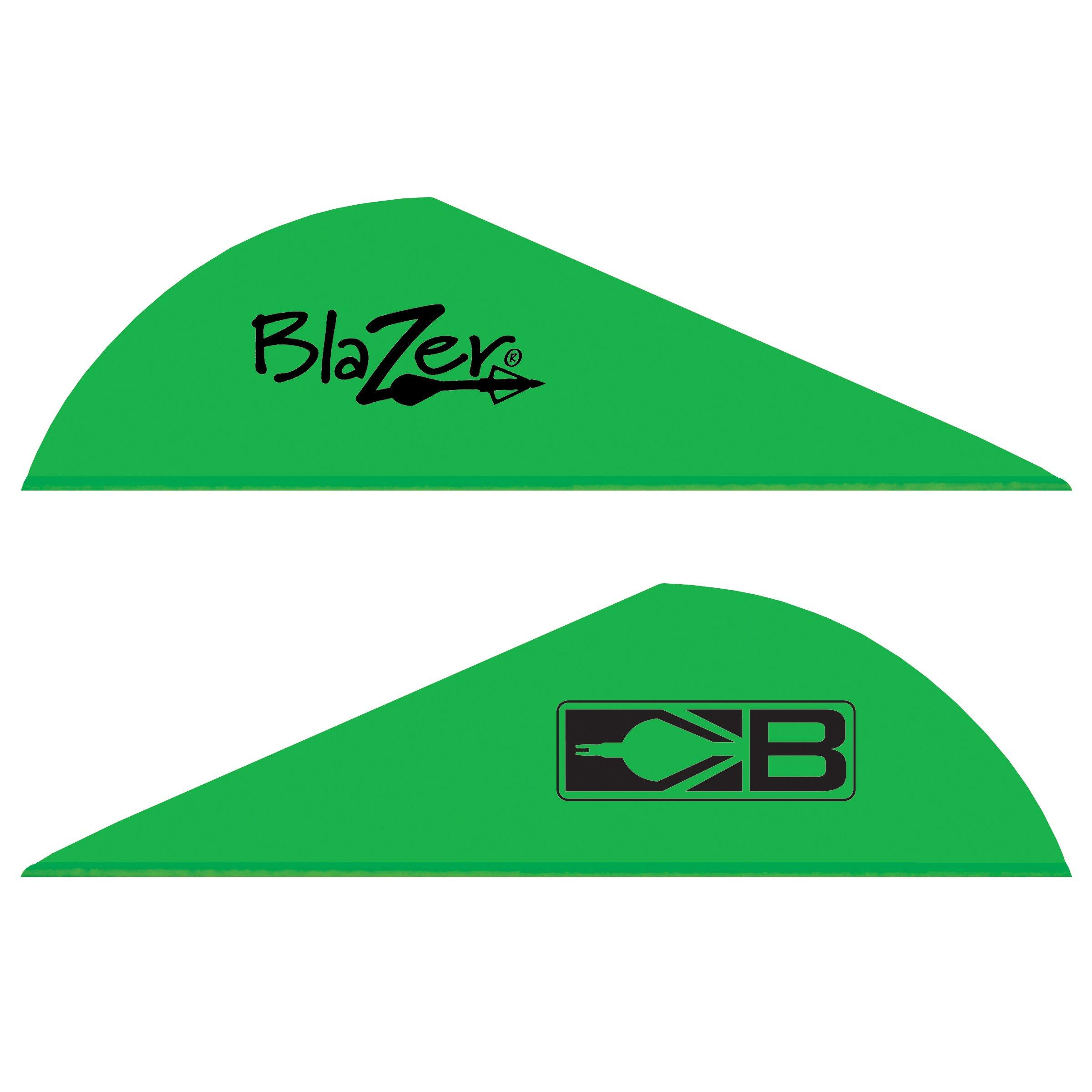 Bohning Blazer Vane (Pack of 100), Neon Green by Bohning