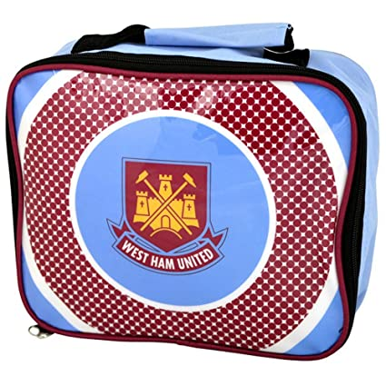 1929a7a5fd Image Unavailable. Image not available for. Color  West Ham United FC  Childrens Kids Official Football Bullseye Lunch Bag (One Size)