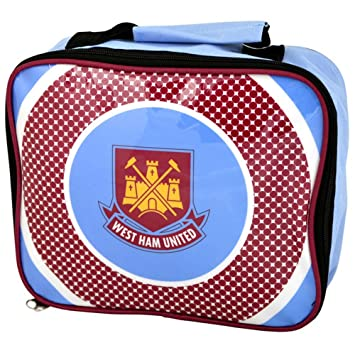 West Ham United FC Official Football Gift School Lunch Box Cool Bag  (RRP£9.99 c2c3afe5cd