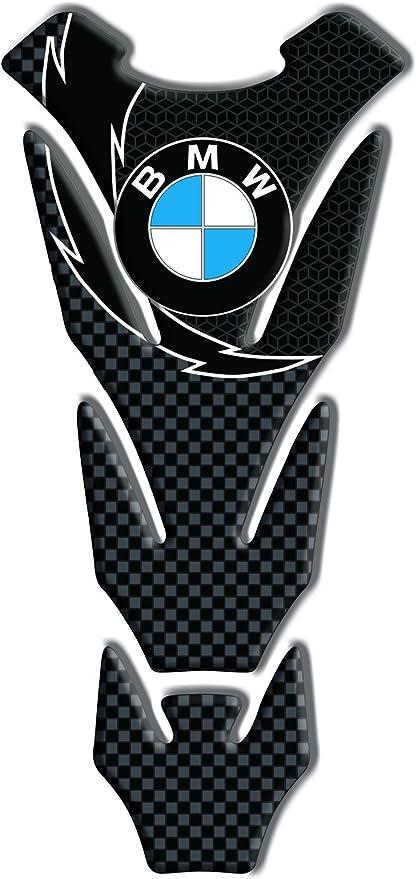 Protection de reservoir Moto MODELS en Gel compatible BMW Racing CARBONE course Pad r/éservoir 3D