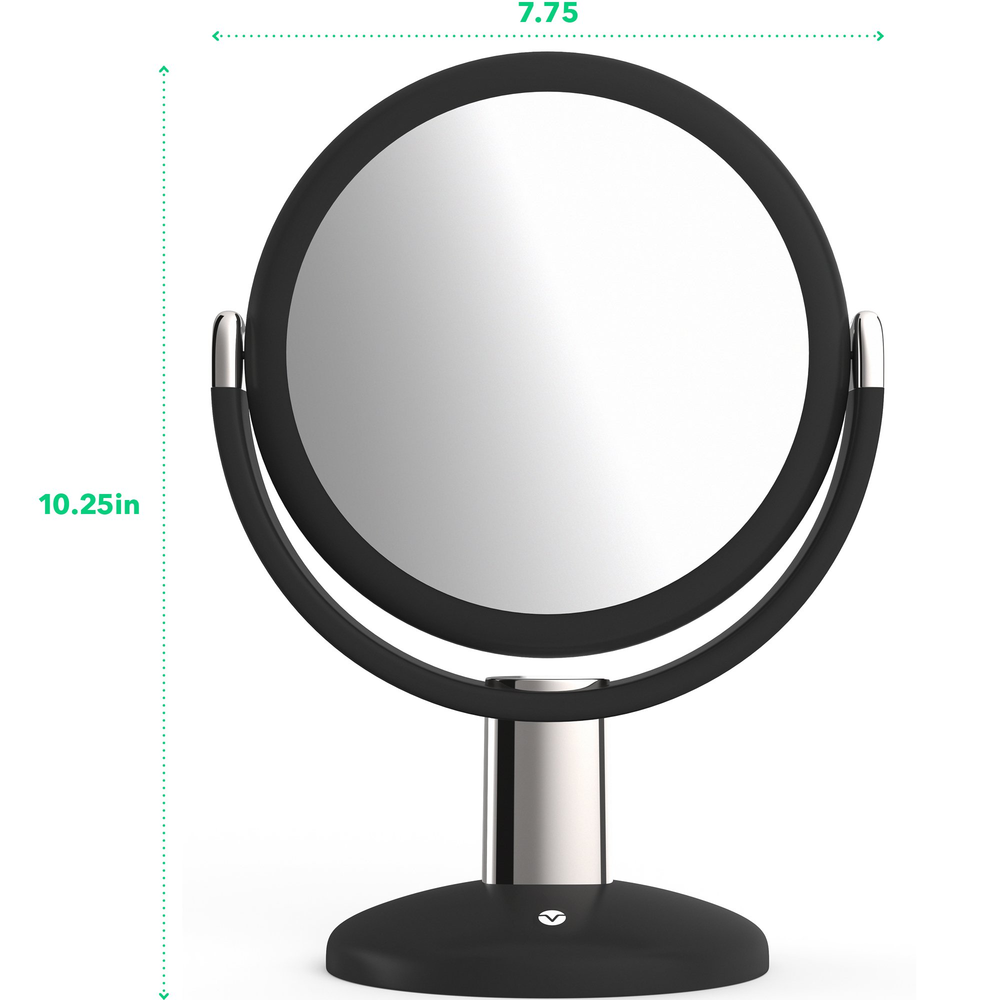 Vremi 10x Magnified Vanity Mirror – 7 Inch Round Makeup Cosmetic Mirror for Bathroom or Bedroom Table Top – Portable…