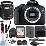 Canon EOS 2000D / Rebel T7 Digital DSLR Camera Body with 24.1MP CMOS Sensor, Built-in WiFi + 18-55mm Lens + Sandisk 32GB…