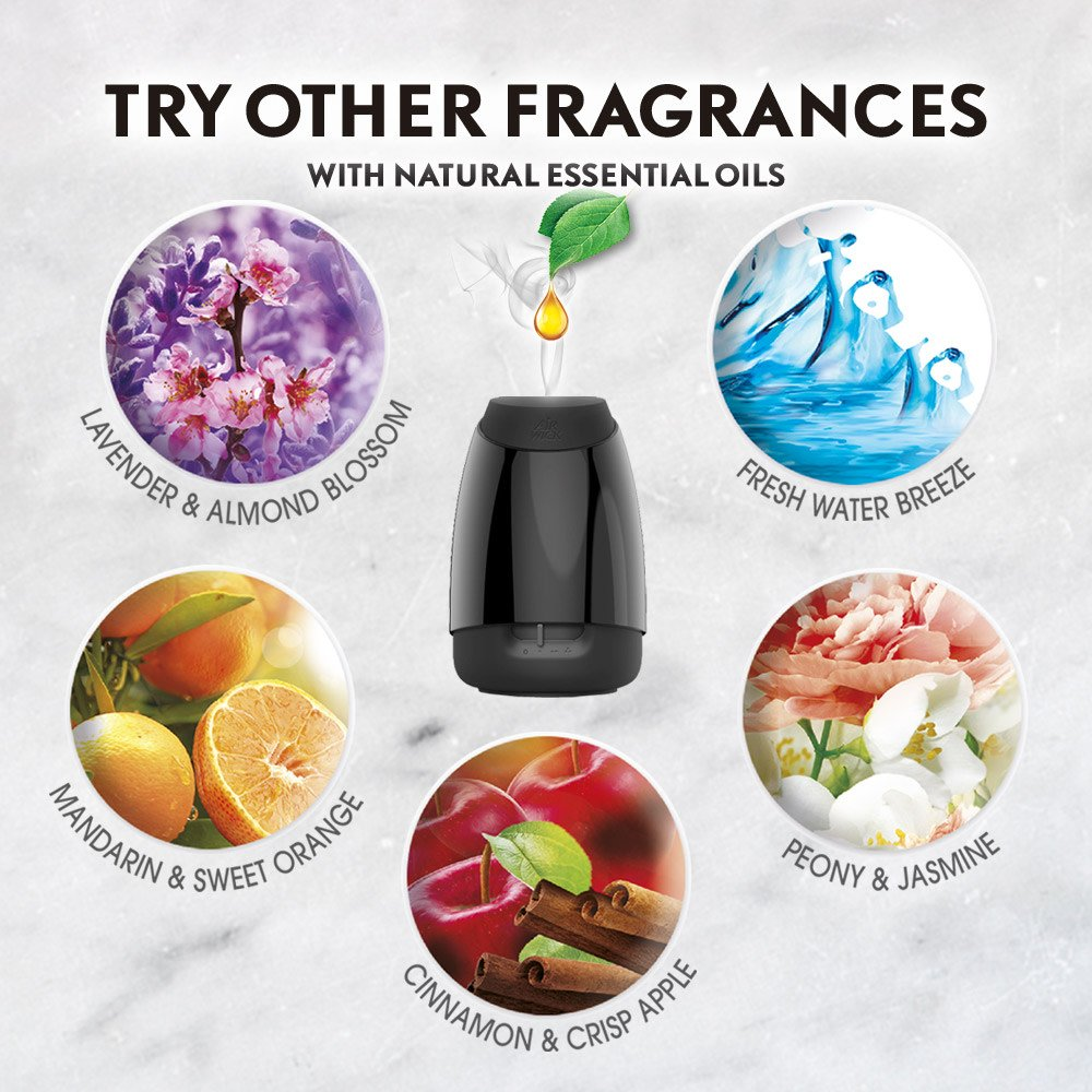 Air Wick Essential Oils Diffuser Mist Refill, Fresh Water Breeze, 3 Count by Air Wick (Image #8)