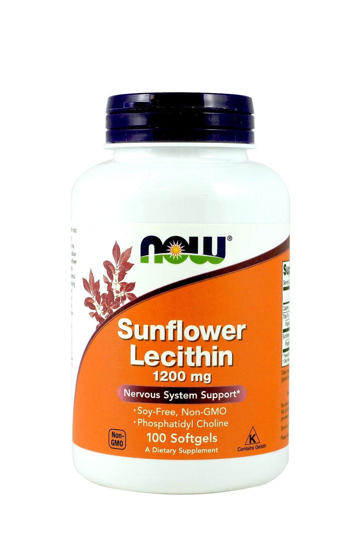 NOW Foods Sunflower Lecithin 1,200 Mg Softgels, 2 Pk by NOW Foods