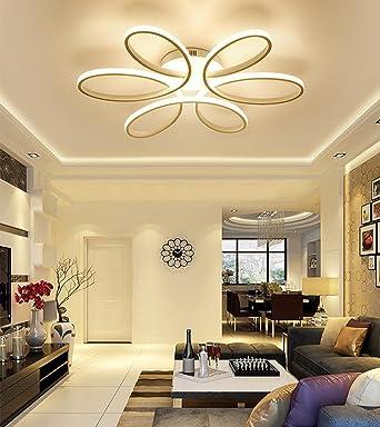 Henley LED-Deckenleuchte Modern 75W LED Lampen 6 Ring ...