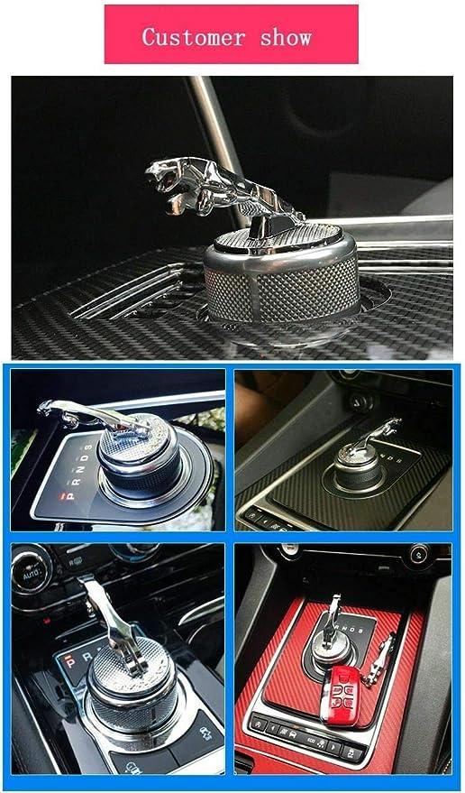L U 3d Metall Auto Schaltknauf Abdeckung Dekoration Trim Aufkleber Für Jaguar Xf Xe Xj Xjl F Pace Car Styling New Küche Haushalt