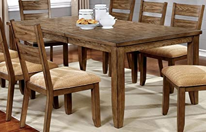 Amazon Com Furniture Of America Cm3287t Ava Light Oak Dining