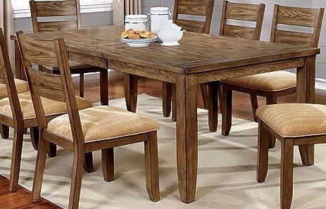 Superior Furniture Of America CM3287T Ava Light Oak Dining Table
