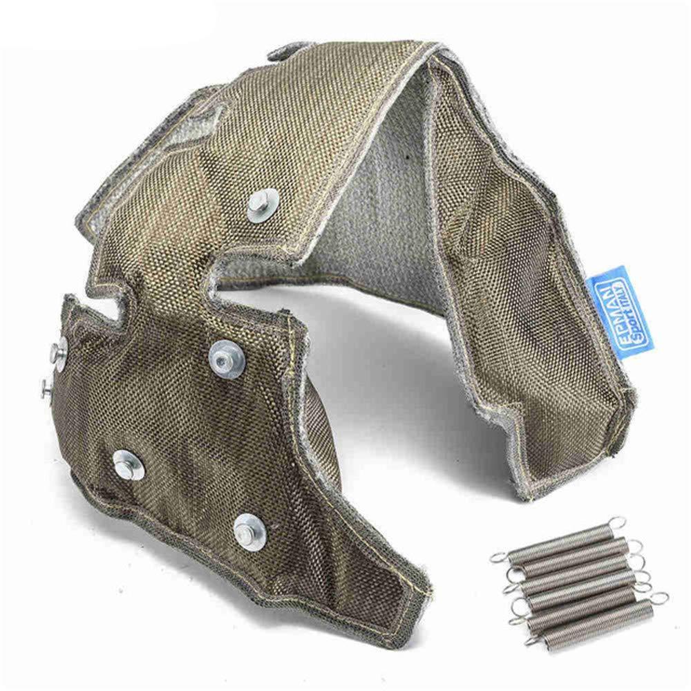 Epman EPTBTK04TI Racing Titanium Turbo Heat Shield Cover Turbo Blanket for K03 K04 Turbo Charger for Audi for Volkswagen