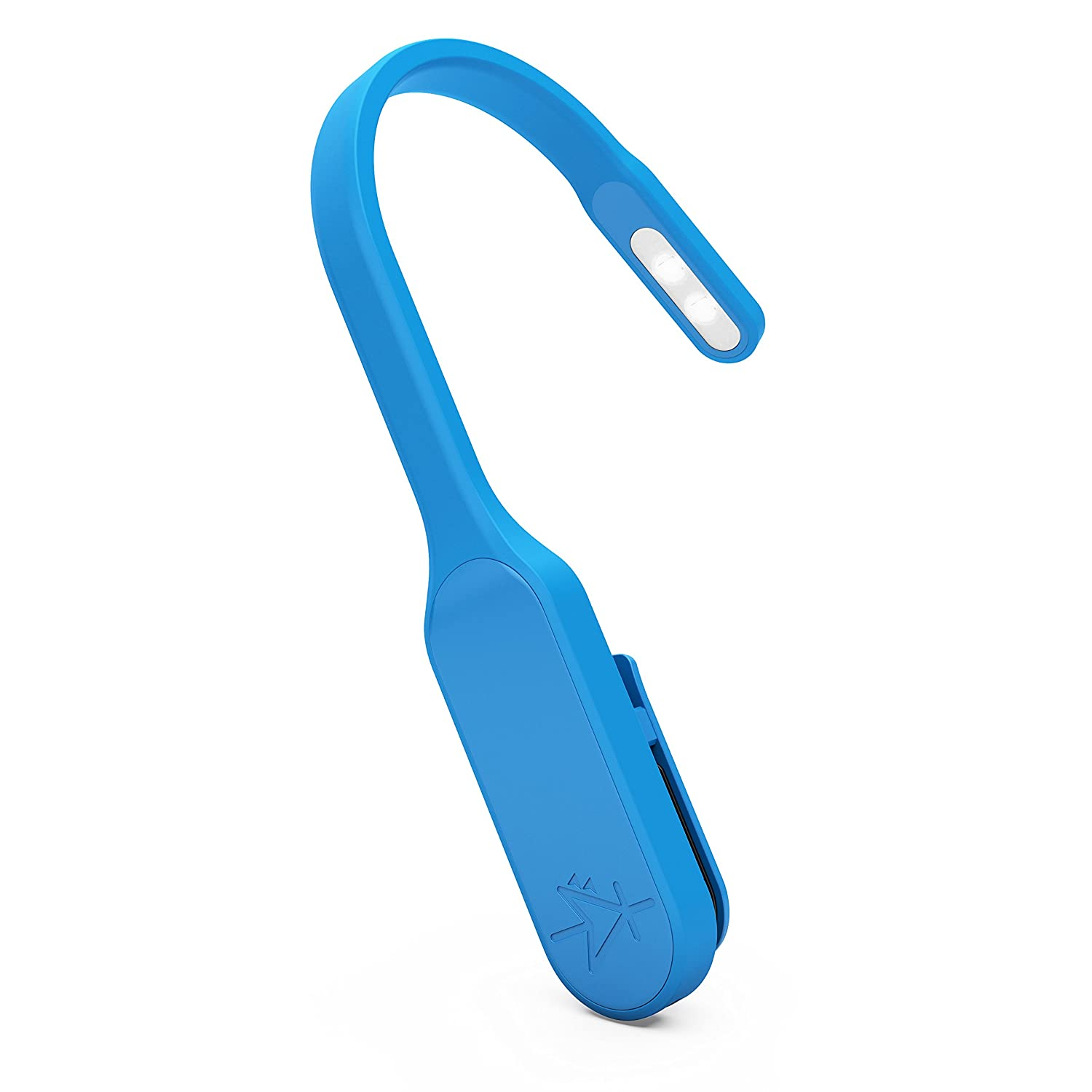 mighty bright recharge book light blue