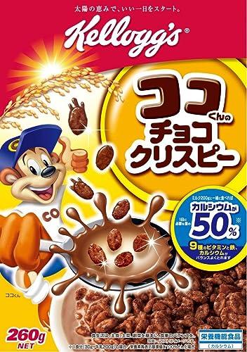 ケロッグ ココくんのチョコクリスピー 260g