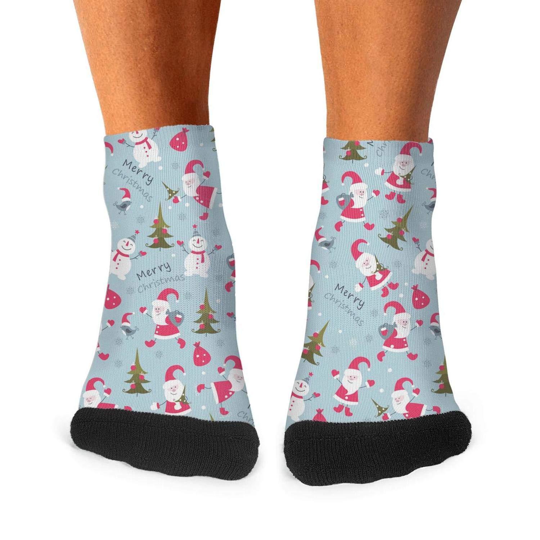 Floowyerion Mens Snowman Christmas Trees Novelty Sports Socks Crazy Funny Crew Tube Socks