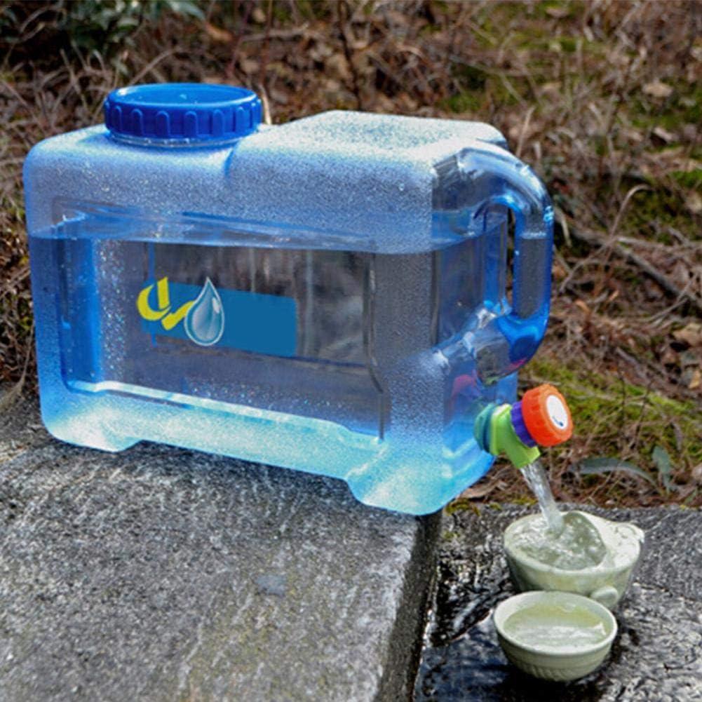 Renoble Dep/ósito de Agua Recipiente de Agua de 12L Dep/ósito de Agua port/átil para autom/óvil con Grifo Pl/ástico sin BPA Dep/ósito de Agua Espesa para Camping wondeful