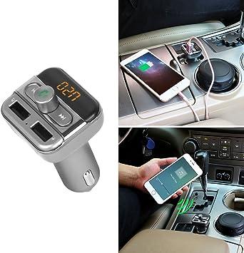 GPCT Bluetooth/inalámbrico manos libres MP3 FM Radio ...