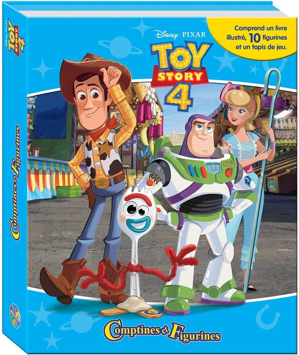 Phidal Pixar Disney Toy Story - Juego de 4 Cuentas y Figuras francesas, Multicolor: Amazon.es: Juguetes y juegos