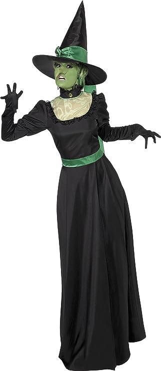 Smiffys - Disfraz de Bruja para Mujer, Talla UK 16 - 18 (SM33134 ...