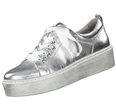 sale retailer 5bd85 52cd8 Tamaris Damen Plateau Sneaker Silber, Schuhgröße:EUR 39 ...